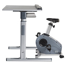 Exercise Bike with Adjustable Height Desk, 8805285