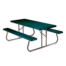Plastic 6 ft Foldable Picnic Table, LIT-22123