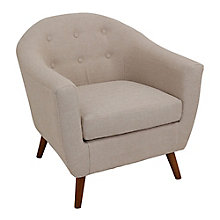 Rockwell Mid-Century Modern Guest Chair in Fabric, 8804904