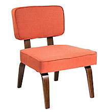 Nunzio Armless Accent Chair in Fabric, 8804906