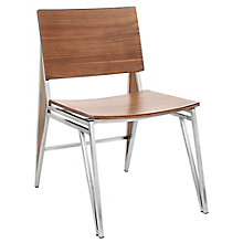 Tetra Armless Chair in Wood, 8804916
