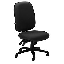 Comfort Series 24 Hour Armless Ergonomic Chair, MAL-2424AG