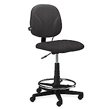 Fabric Swivel Ergonomic Stool, MAL-4005AG