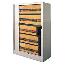 "Tambour Door File Cabinet - 5 Tier, 36""W, MAL-6236A3"