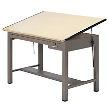 "Drafting Table - 60"" x 37-1/2"", MAL-7736B"