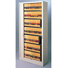 "Tambour Door File Unit - 7 Tier, 36""W, MAL-8336A3"