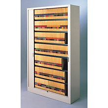"Tambour Door File Cabinet - 7 Tier, 48"" W, 8804043"