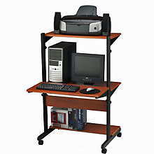 Adjustable Height Computer Cart, MAL-8432SO