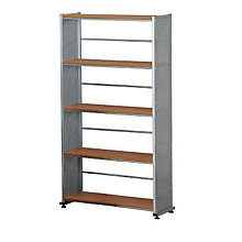 Five Shelf Contemporary Bookcase, MAL-995