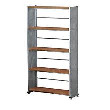 Five Shelf Contemporary Bookcase, MAL-995
