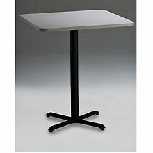 "Square Pub Height Break Room Table - 36"" x 36"", MAL-CA36SHB"