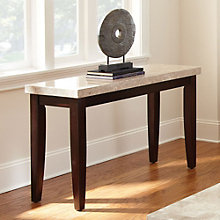 Monarch Marble Top Sofa Table, 8806882