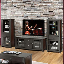 Elegance Entertainment Center - Large TV Stand with Audio Cabinets, OFG-EF0097