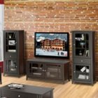 Elegance Entertainment Center - Small TV Stand with Audio Cabinets, OFG-EF0099