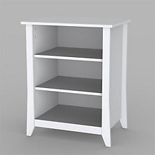 Vice Versa White Stereo Cabinet, MEG-201003