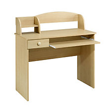 Natural Maple Compact Desk, MEG-5642