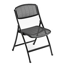 Heavy-Duty Folding Chair with Mesh Seat and Back, MIT-1FM