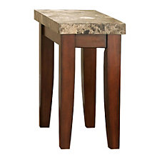 Montibello Marble Top Chairside End Table, 8806889