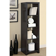 "Four Shelf Bookcase- 63""H, MOA-01235"