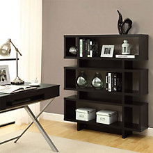 "Three Shelf Bookcase- 55""H, MOA-01239"