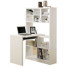 Desk With Bookcase Wall, 8801505