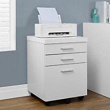 Odell Mobile Three Drawer File Cabinet, 8802273