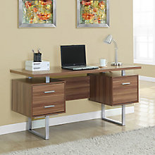 """Odell Raised Surface Computer Desk - 60""""W, 8802279"""