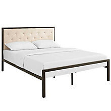 Queen Fabric Bed, 8806725