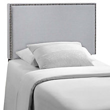 Twin Nailhead Upholstered Head, 8806761