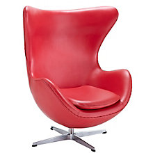 Glove Modern Lounge Chair in Leather, MOW-10574