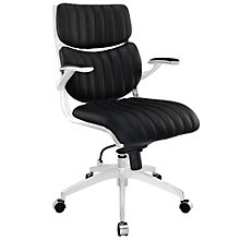 Escape Mid Back Chair in Vinyl, MOW-01223
