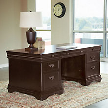 Beaumont Double Pedestal Executive Desk, MRN-10277