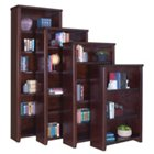 "Tribeca Loft Cherry Five Shelf Open bookcase - 70"" H, MRN-10285"