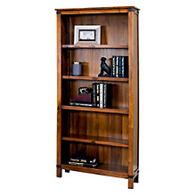 "Point Reyes Five Shelf Open Bookcase - 70"" H, MRN-10592"