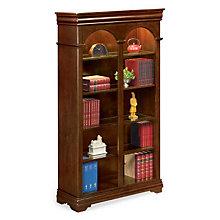 "Ten Shelf Double Arched Bookcase - 78"" H, MRN-PT4678"