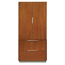 "Monterey Wardrobe File Cabinet Set - 48""H, 8801988"
