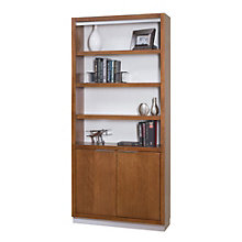"Monterey Six Shelf Bookcase With Lower Doors - 78""H, 8801722"