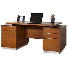 """Monterey Pedestal Desk - 72""""W, 8801727"""
