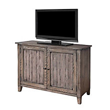 "Harmon Weathered Finish Storage Console - 41.6""W, 8803276"