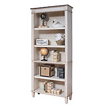 "Baldwin Two Tone Five Shelf Bookcase - 72""H, 8804419"