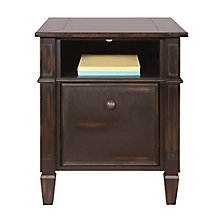 "Navarro Distressed Two Tone One Drawer File - 20""W, 8804420"