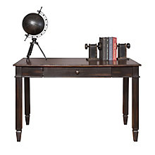 "Navarro Distressed Two Tone Writing Table - 47.5""W, 8804421"