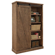 "Avondale Bookcase with Sliding Door - 72""H, 8804539"