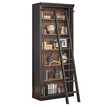 "Toulouse Six Shelf Bookcase with Ladder - 94""H, 8804544"