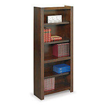 "Carlton Five Shelf Bookcase - 72""H, MRN-CN3072"