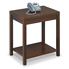 Carlton Corner Table with Shelf, MRN-CN55