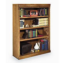 "Wheat Oak Four Shelf Bookcase - 48""H, MRN-HO3648W"