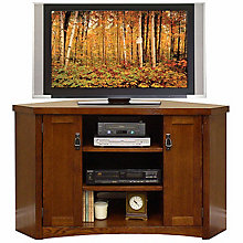 Mission Pasadena Corner TV Stand, MRN-MP351