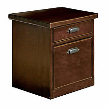"Tribeca Loft Cherry Two Drawer Rolling File - 17"" W, MRN-TLC202"