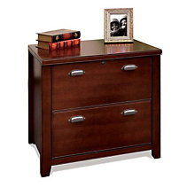 "Tribeca Loft Cherry Two Drawer Lateral File - 30"" W, MRN-TLC450"
